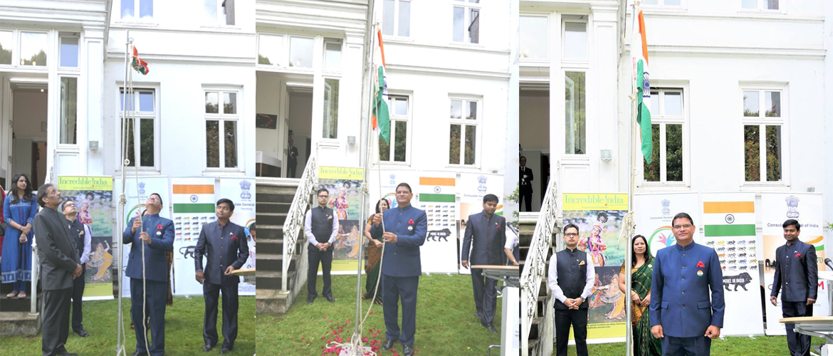 Celebration of Independece Day of India at the Consulate