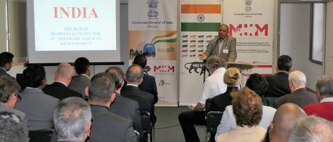 Digital India meets Hamburg (November 12, 2018)