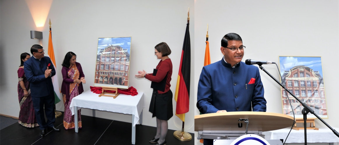 Inauguration of New building of Consulate General of India, Hamburg (October 08, 2018)