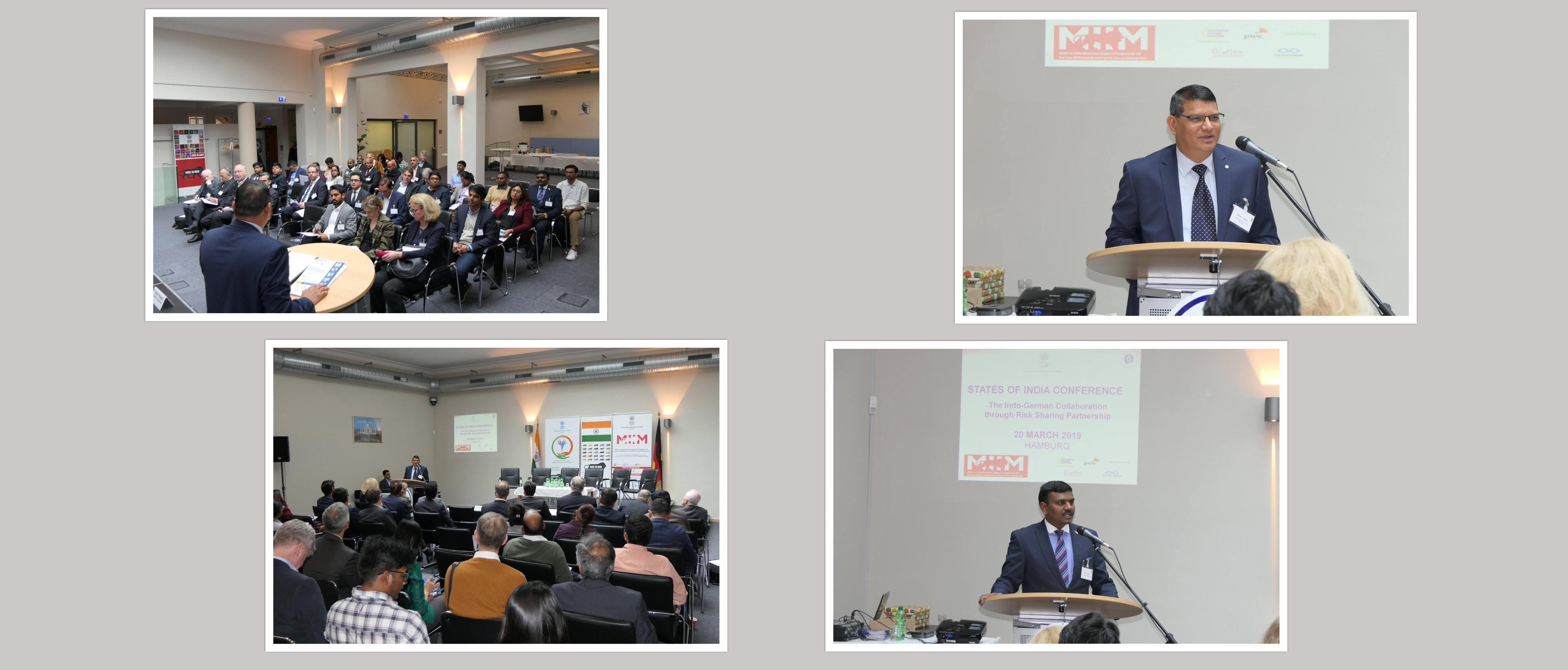 State of India Conference at Hamburg (March 20, 2019)
